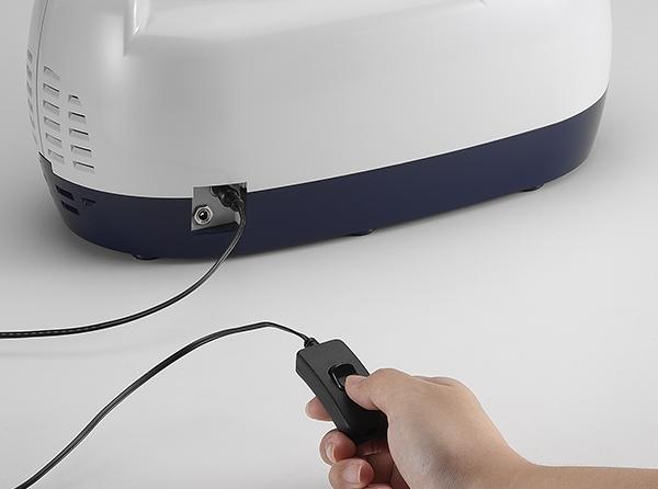 Aspirator Secretii VAC Plus 800 ml, 600 mmHg, 24 LPM, cu baterie 6