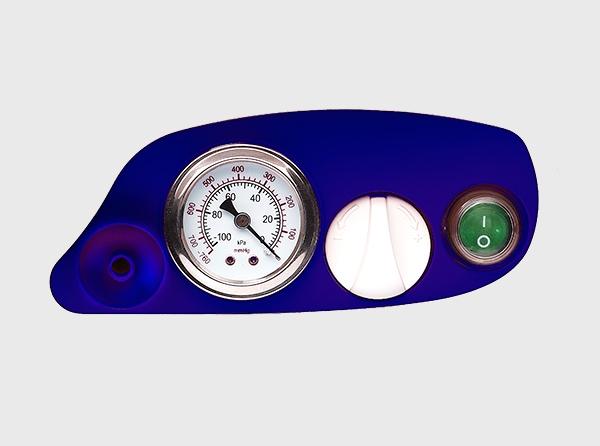 Aspirator Secretii VAC Plus 800 ml, 600 mmHg, 24 LPM, cu baterie 3