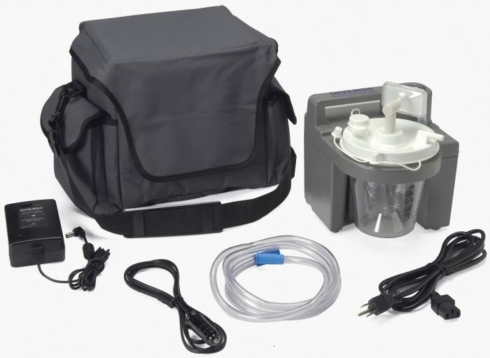 Aspirator Secretii VacuAide, 80-550 mmHg, 27 LPM, cu baterie 2