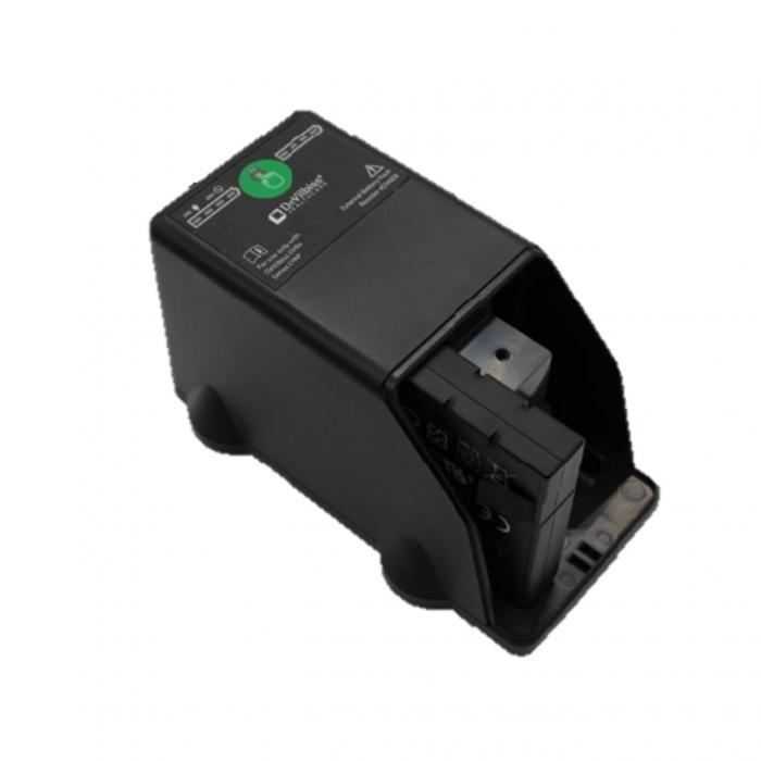 Baterie externa CPAP/ APAP/ BiPAP Blue - DeVilbiss (unitate incarcare +  Baterie 11.25 V)