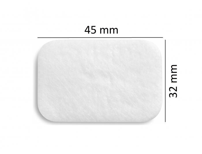 Filtru alb particule fine ( > 0.3 μm) CPAP DeVilbiss (SleepCube, Blue, Cube 30 ATV) 1
