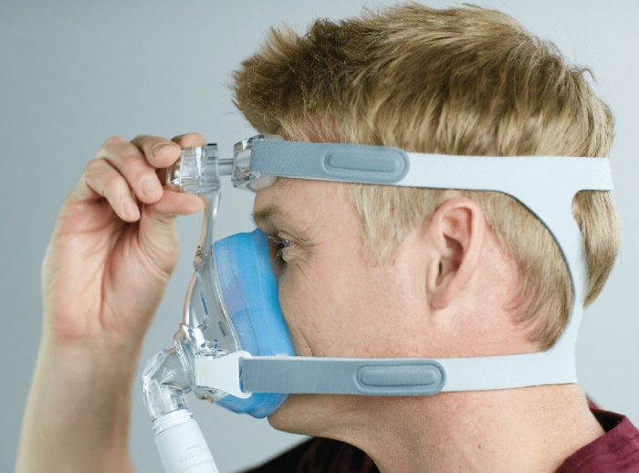 Masca CPAP Full Face Amara Gel 4