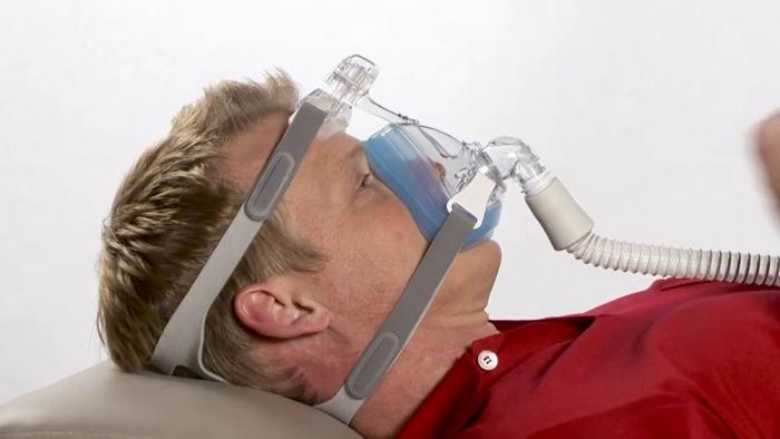 Masca CPAP Full Face Amara Gel 5
