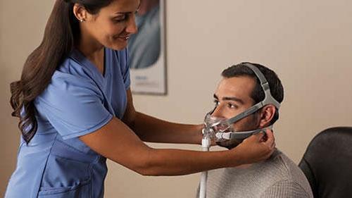 Masca CPAP Full Face Amara View 7