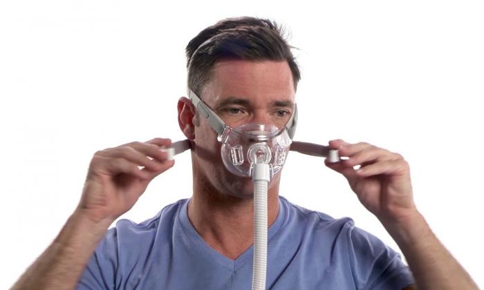 Masca CPAP Full Face Amara View 5