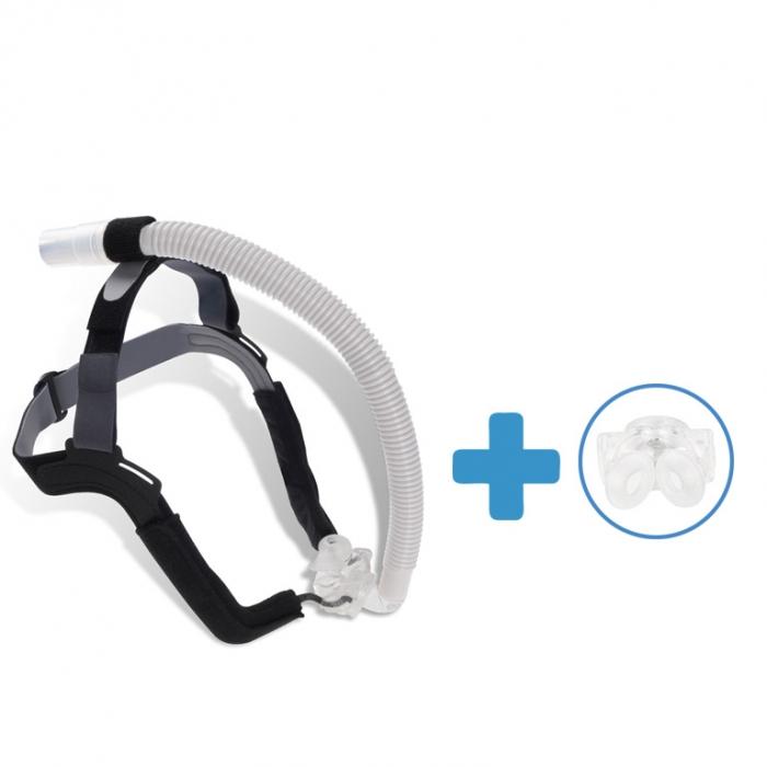Oferta: Masca CPAP Pillow ALOHA + 1 x Narine Siliconate de schimb 0