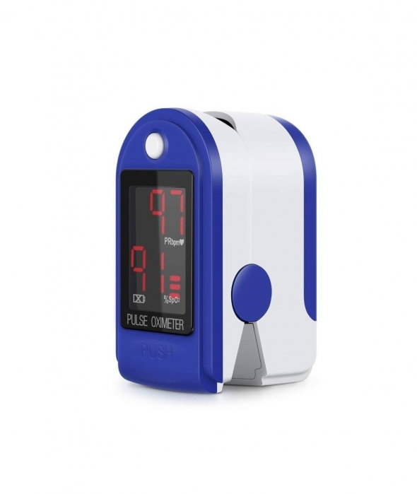 Pulsoximetru CMS50DL (Display LED, SpO2, PR, PI & Plethysmogram, Pulse Bar) 0