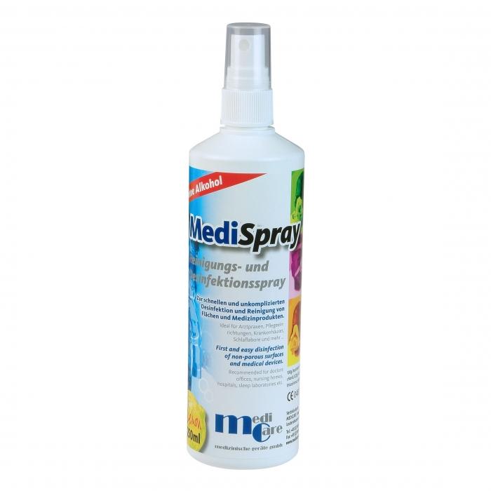 Solutie spray pt. curatare/dezinfectare masca CPAP - MediSpray Lemon (250 ml) 0