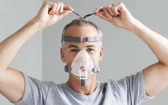 Masca CPAP Full Face F&P Simplus 3