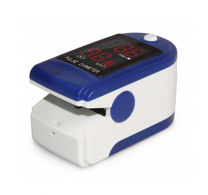 Pulsoximetru CMS50DL (Display LED, SpO2, PR, PI & Plethysmogram, Pulse Bar) 1