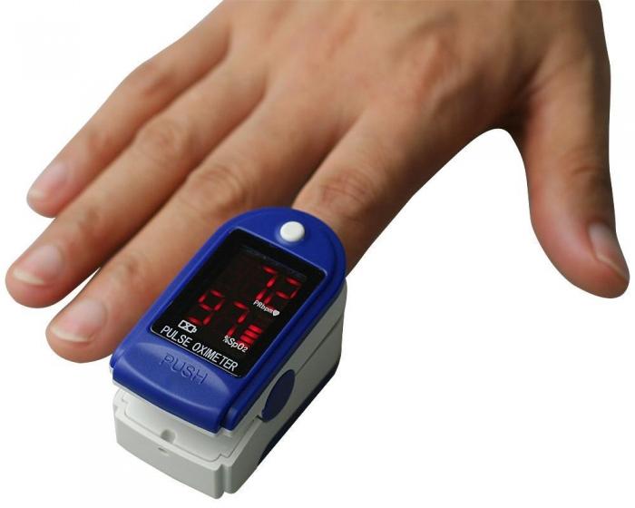 Pulsoximetru CMS50DL (Display LED, SpO2, PR, PI & Plethysmogram, Pulse Bar) 2