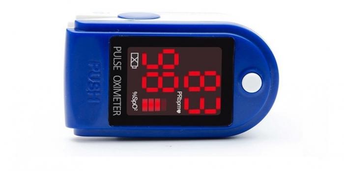 Pulsoximetru CMS50DL (Display LED, SpO2, PR, PI & Plethysmogram, Pulse Bar) 3