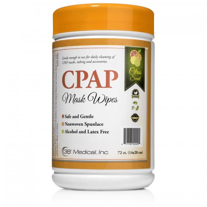 Servetele umede pentru masca CPAP - Citrus