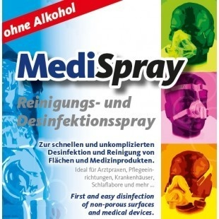 Solutie spray pt. curatare/dezinfectare masca CPAP - MediSpray Neutral (250 ml) 1