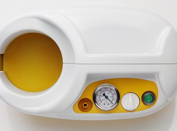 Aspirator Secretii VAC PRO 800 ml, 600 mmHg, 24 LPM, fara baterie 4